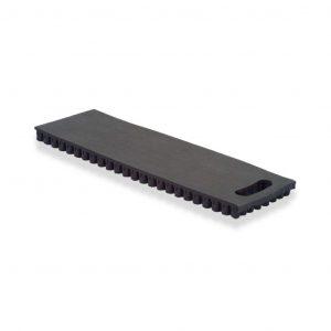 6 inch black portable kneeling pad with handle