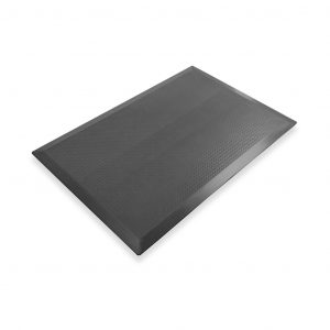 SmartCells slimline 2 by 3 black mat in a diagonal view