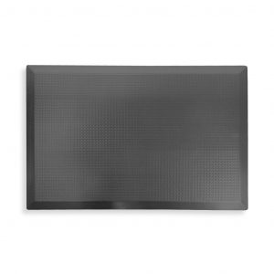 SmartCells slimline 2 by 3 black mat in a top view