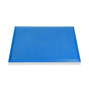 SmartCells 2 by 3 mat in blue from a front view