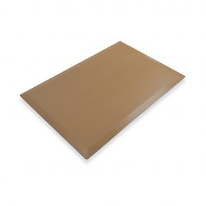 SmartCells slimline 2 by 3 brown mat in a diagonal view