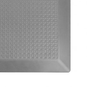SmartCells 2 by 3 Slimline grey mat corner close up view