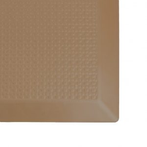 SmartCells 2 by 3 Slimline brown mat close up corner view