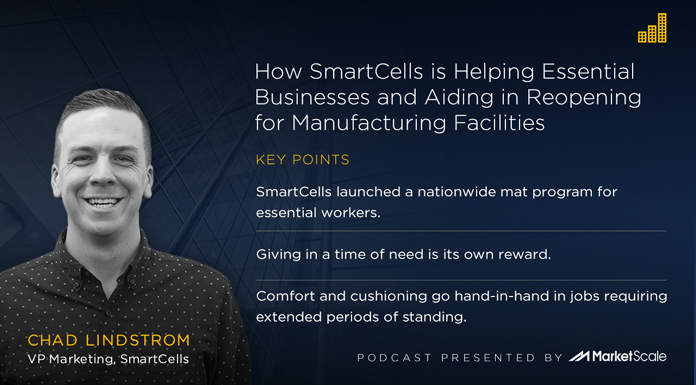 Podcast: How SmartCells is Helping Essential Businesses and Aiding in Reopening for Manufacturing Facilities