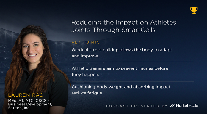 Podcast: The Pressure is Off: Reducing the Impact on Athletes' Joints Through SmartCells